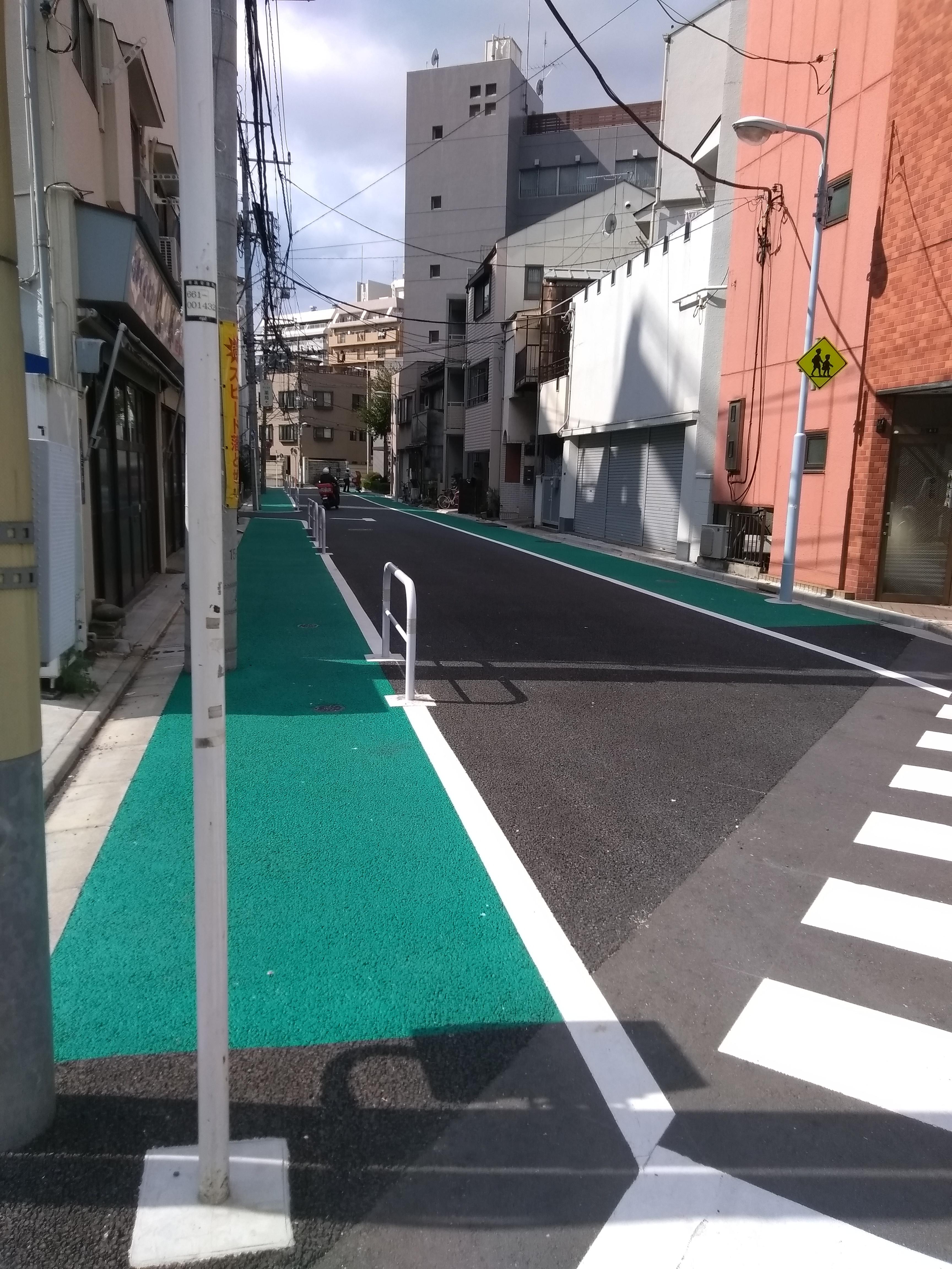 Зеленые тротуары