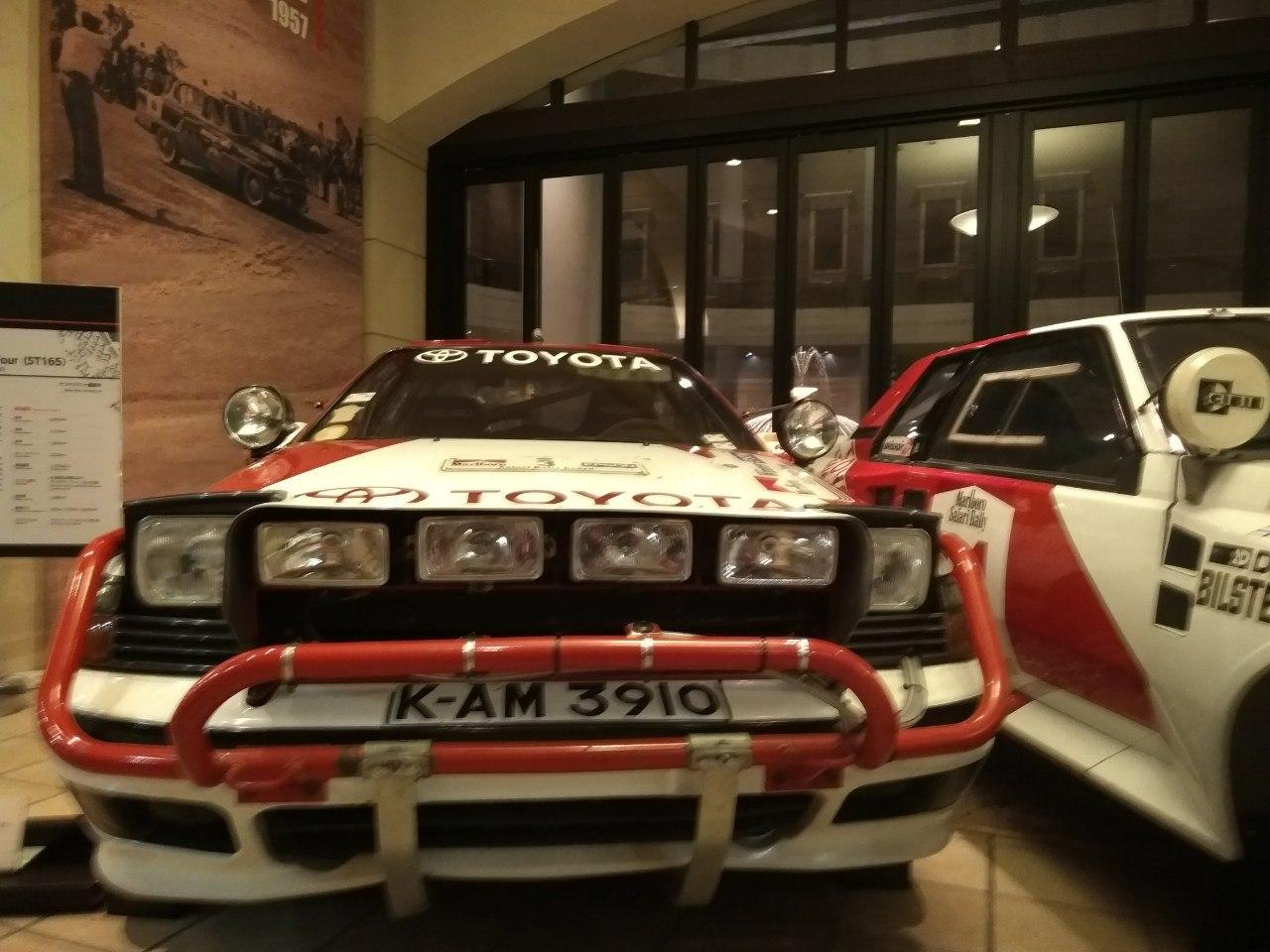 Машина с историчиской выставки Toyota