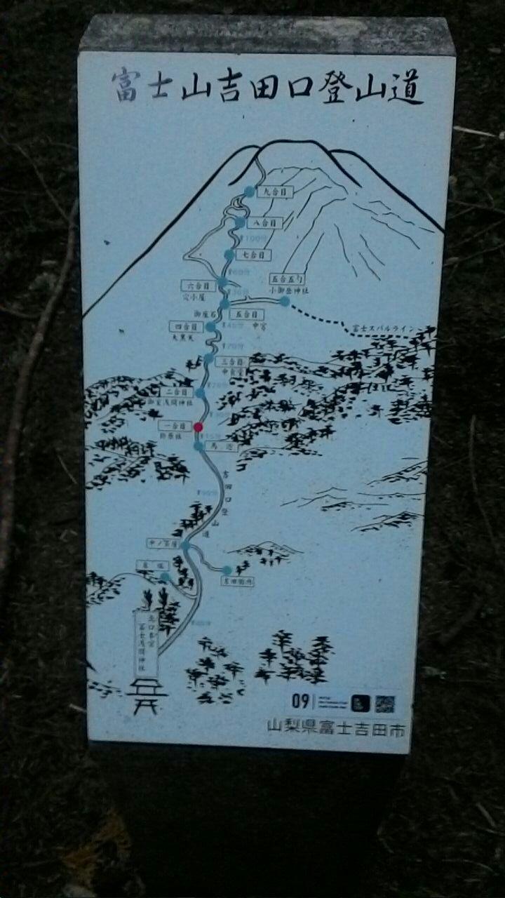 Маршрут на Фудзияму