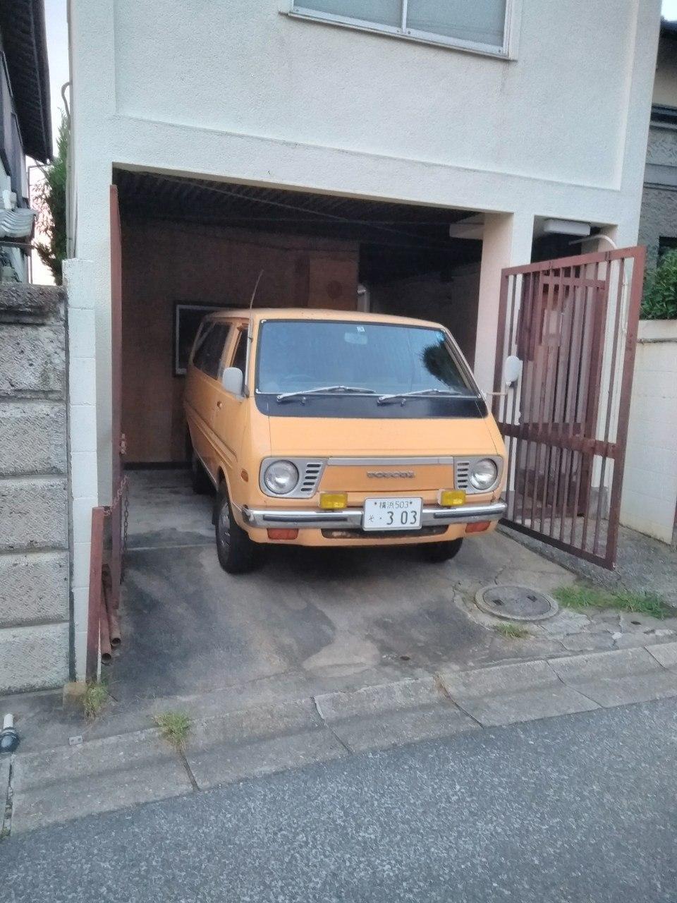 Не влез в гараж